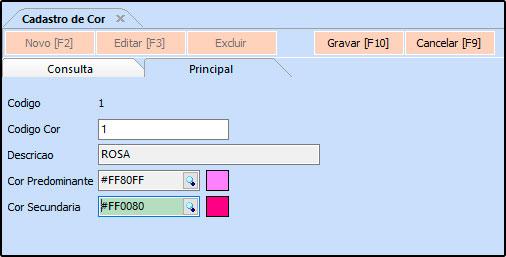 Como Cadastrar Cores no Futura Server - FS18 01