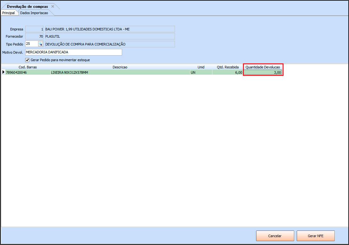 9e34314639e3 Como Emitir NF-e de Devolução de Compra? – FS89 – Futura Sistemas ...