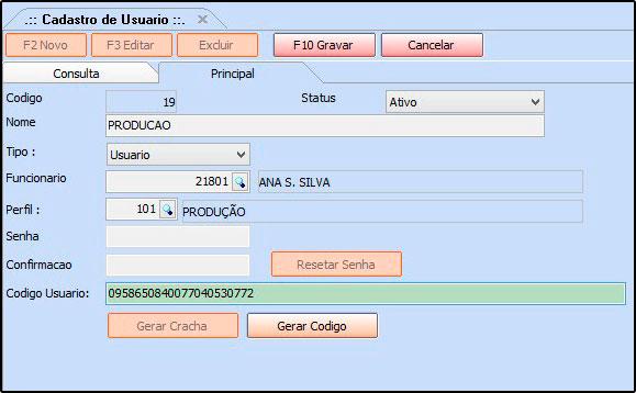 07 - Codigo de login - Futura Server