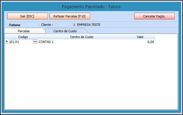 09 - Centro de custo - Futura Server