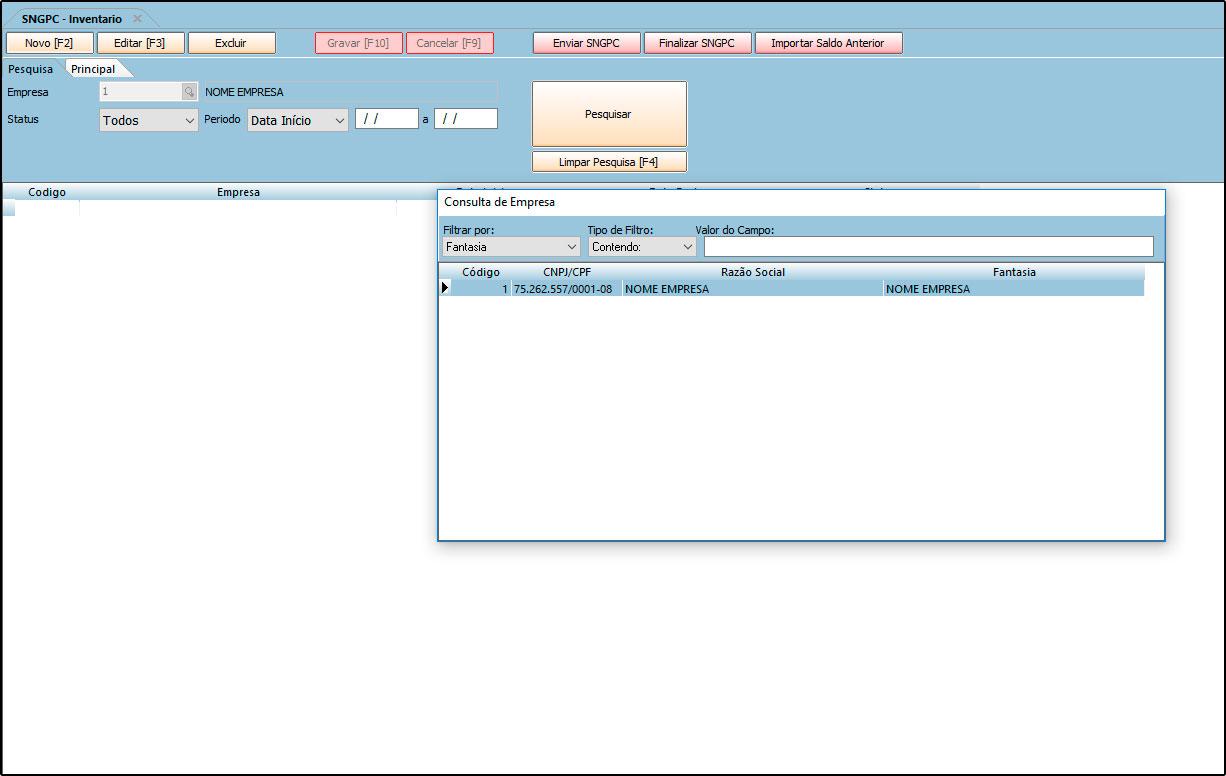 Como configurar e realizar o controle do SNGPC – FAQ26 (2)