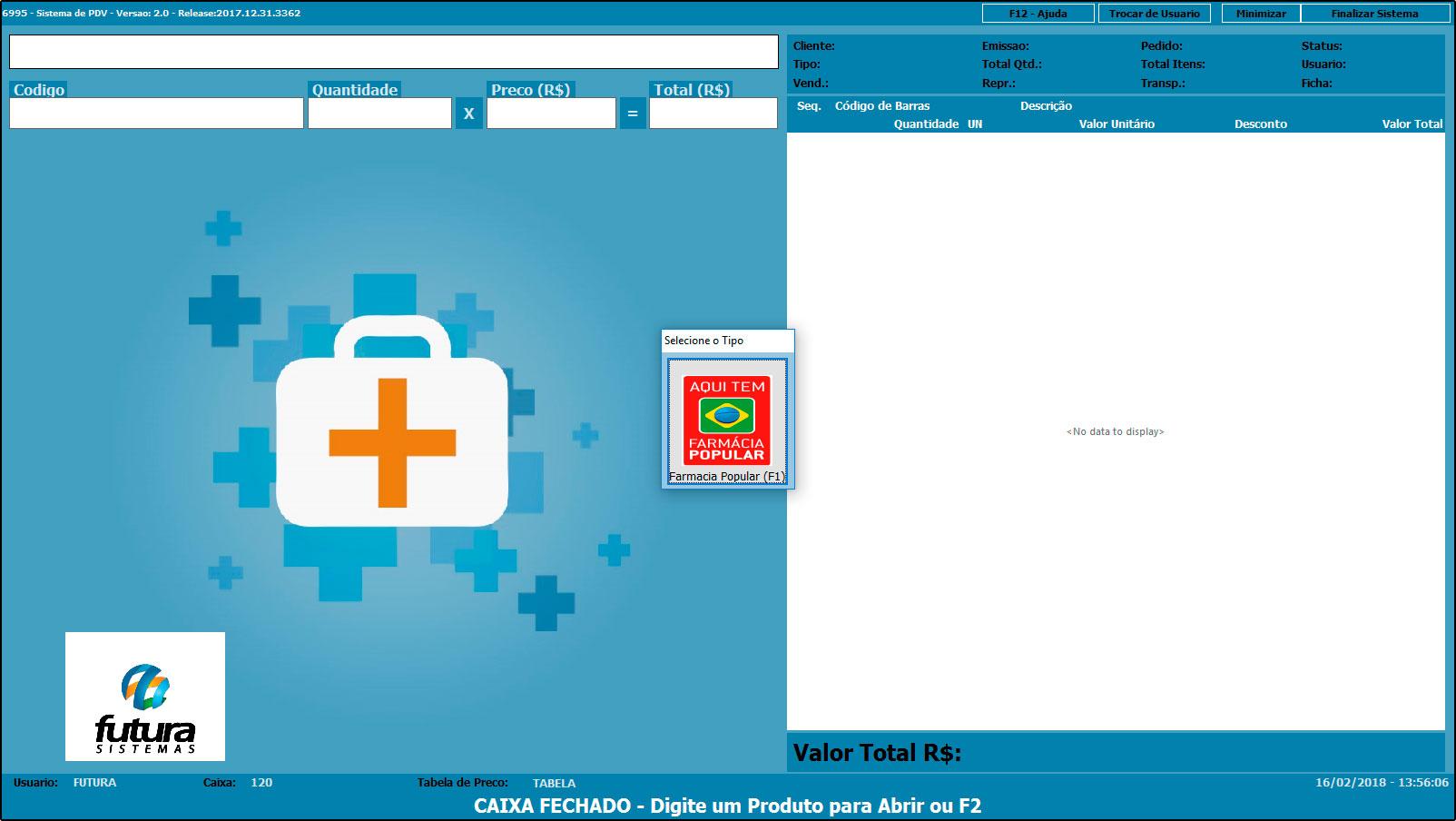 Como configurar e utilizar o Farmácia Popular – FAQ27 (2)
