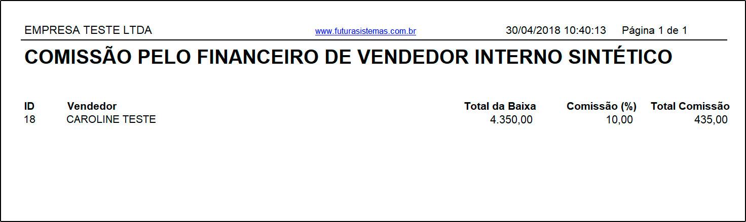 Relatório de Comissões pelo Financeiro – FS292 (11)