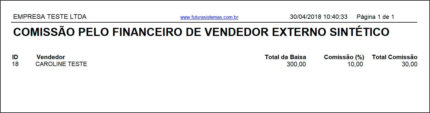 Relatório de Comissões pelo Financeiro – FS292 (13)