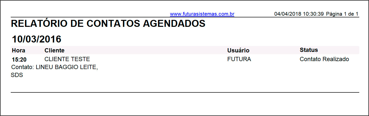 Relatório de agenda – FS243 (2)