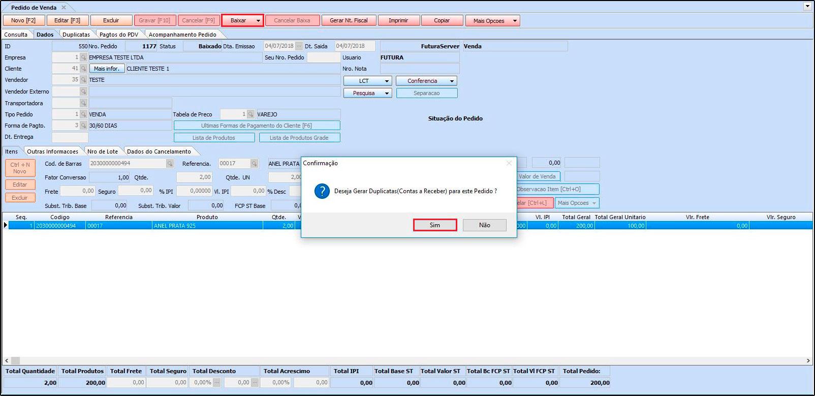 Como trabalhar com a rotina de Contas a Receber FAQ39 - 01