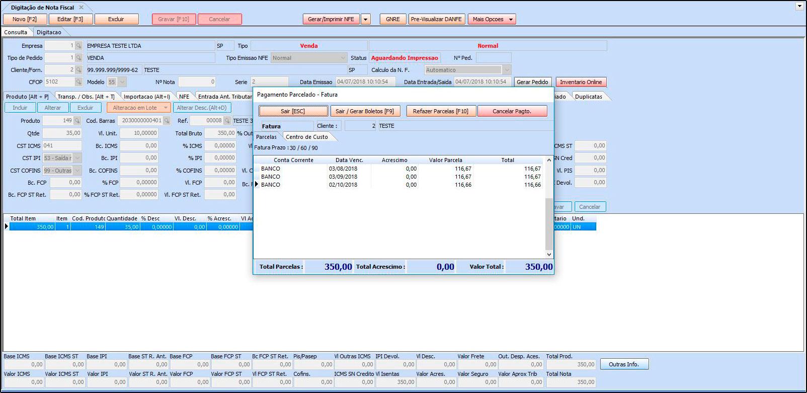 Como trabalhar com a rotina de Contas a Receber FAQ39 - 05