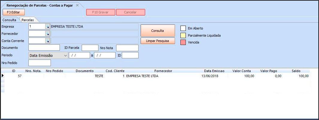 Como utilizar a ferramenta de contas a pagar FAQ40 - 09