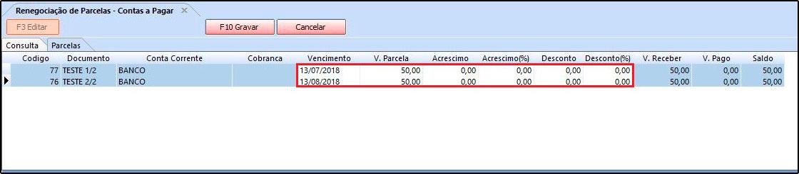 Como utilizar a ferramenta de contas a pagar FAQ40 - 10