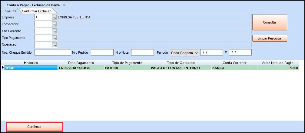 Como utilizar a ferramenta de contas a pagar FAQ40 - 11