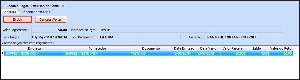 Como utilizar a ferramenta de contas a pagar FAQ40 - 12