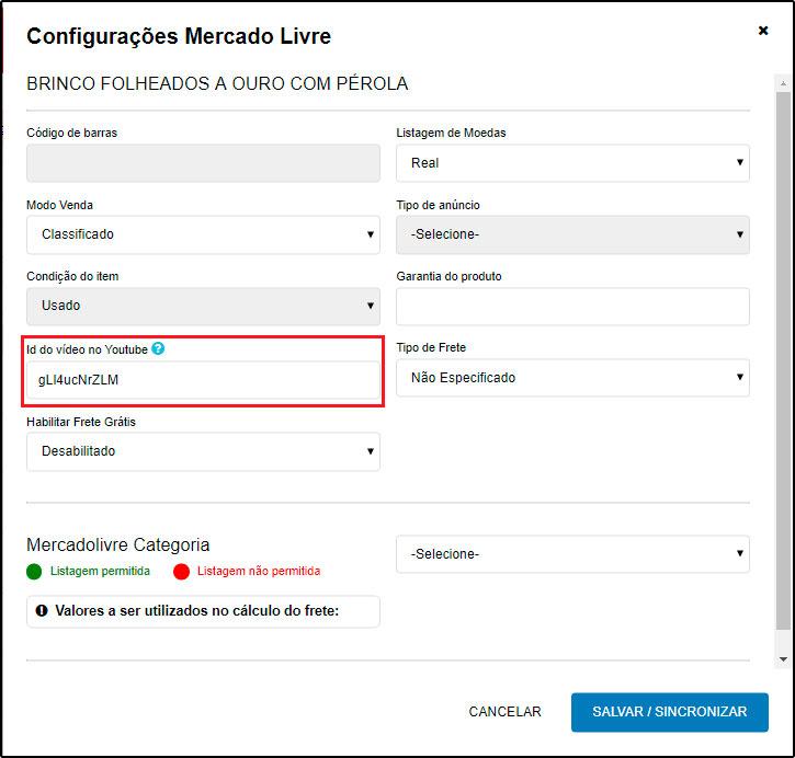 Como inserir vídeos na ficha técnica dos produtos (Mercado Livre) - FAQ42 - 3