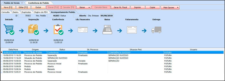 Como trabalhar com a rotina de Processo de Vendas no Futura Server - FAQ41 (17)