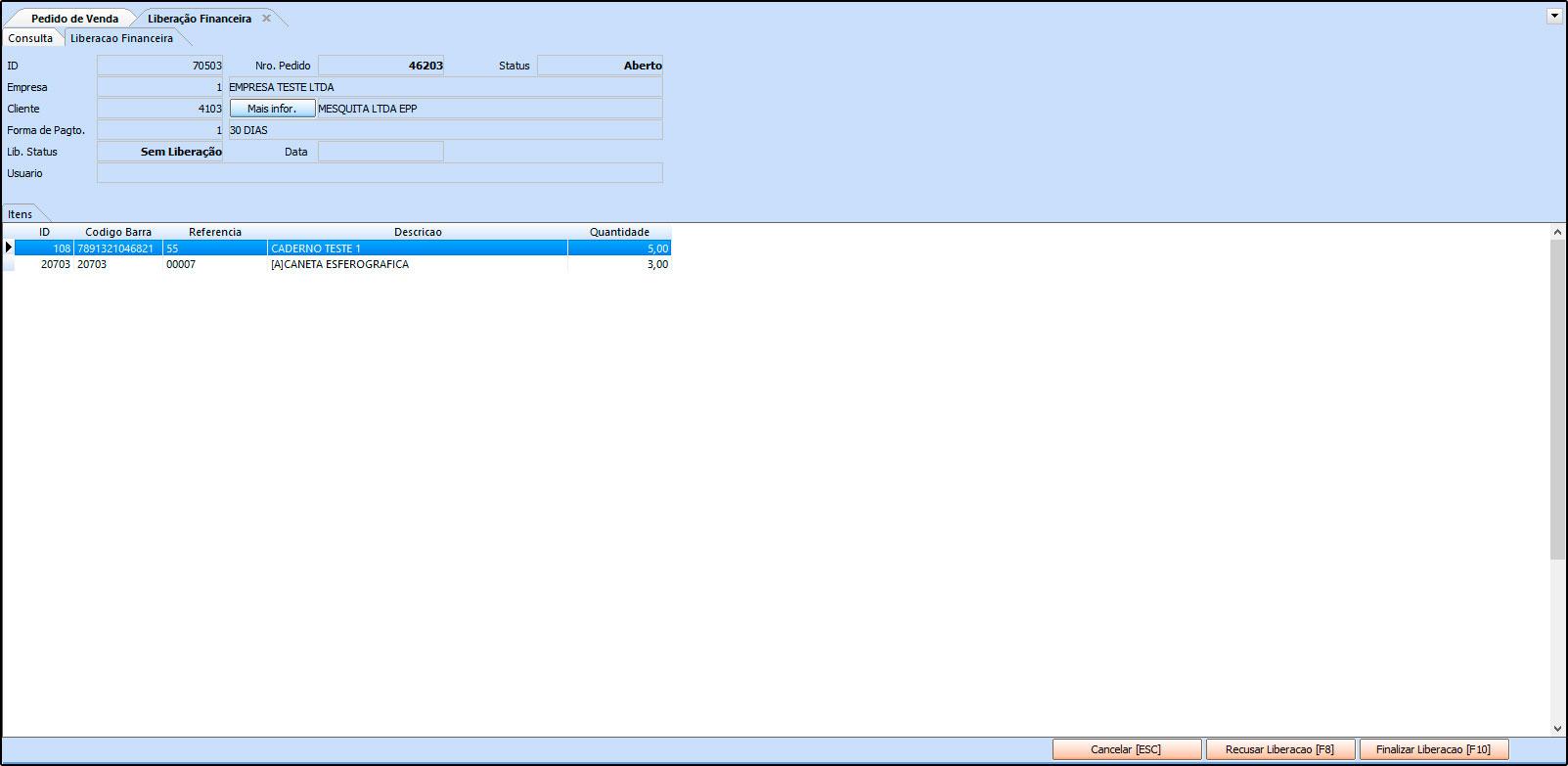 Como trabalhar com a rotina de Processo de Vendas no Futura Server - FAQ41 (18)