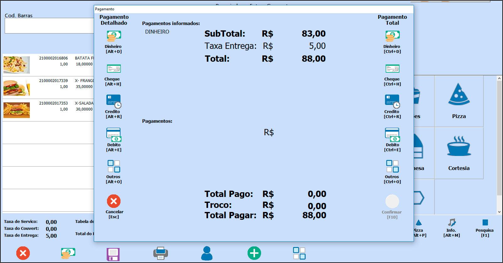 Como trabalhar com pré-pagamento no Futura Gourmet (Modulo Delivery) - FAQ46 (11)
