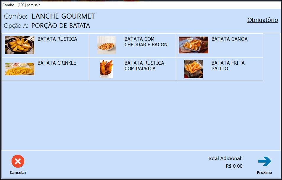 Como utilizar combo de refeições no Futura Gourmet e Gourmet (6)