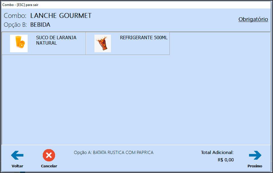 Como utilizar combo de refeições no Futura Gourmet e Gourmet (7)