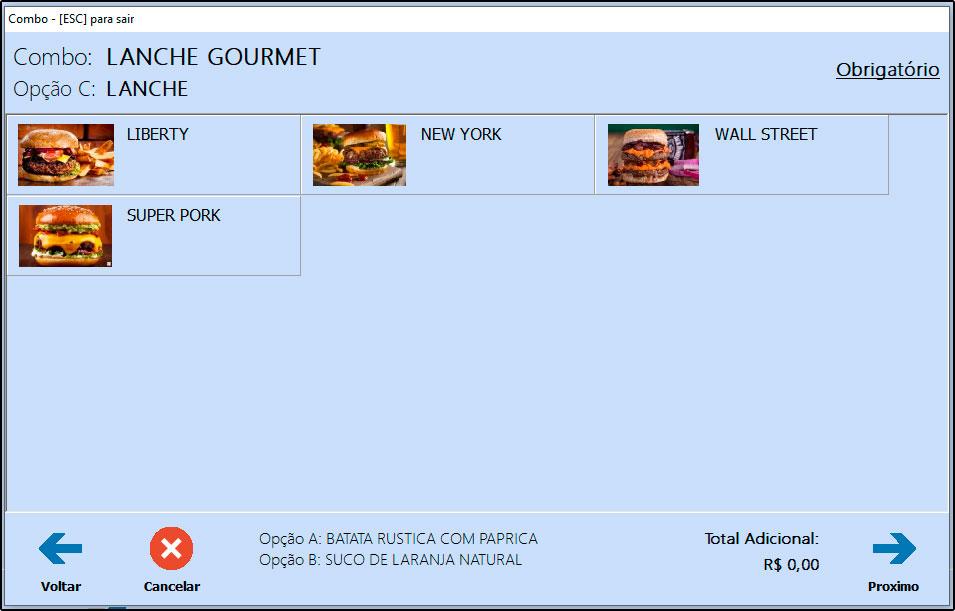Como utilizar combo de refeições no Futura Gourmet e Gourmet (8)