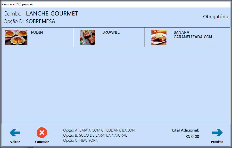 Como utilizar combo de refeições no Futura Gourmet e Gourmet (9)