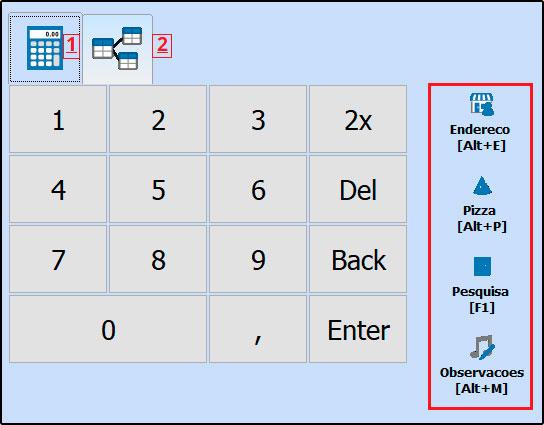 Principais botões da tela inicial do Futura Gourmet - FAQ58 (4)