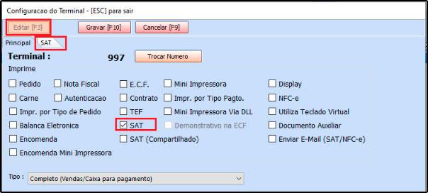 Como instalar e configurar um SAT-CF-e (49)