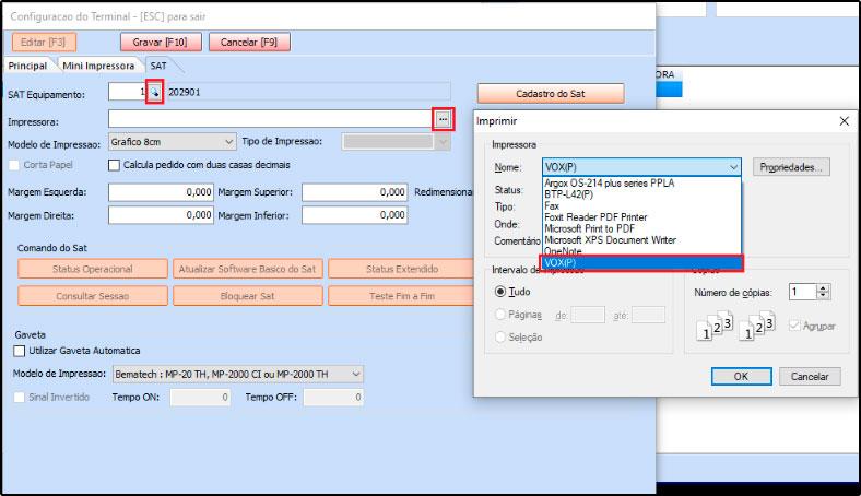 Como instalar e configurar um SAT-CF-e (55)