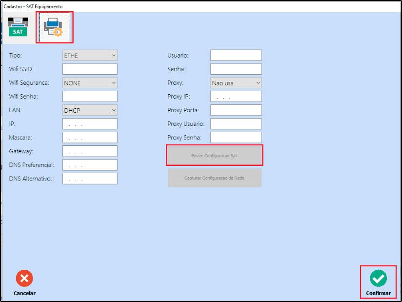 Como instalar e configurar um SAT-CF-e (57)