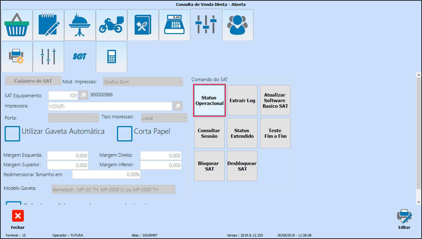 Como instalar e configurar um SAT-CF-e (69)