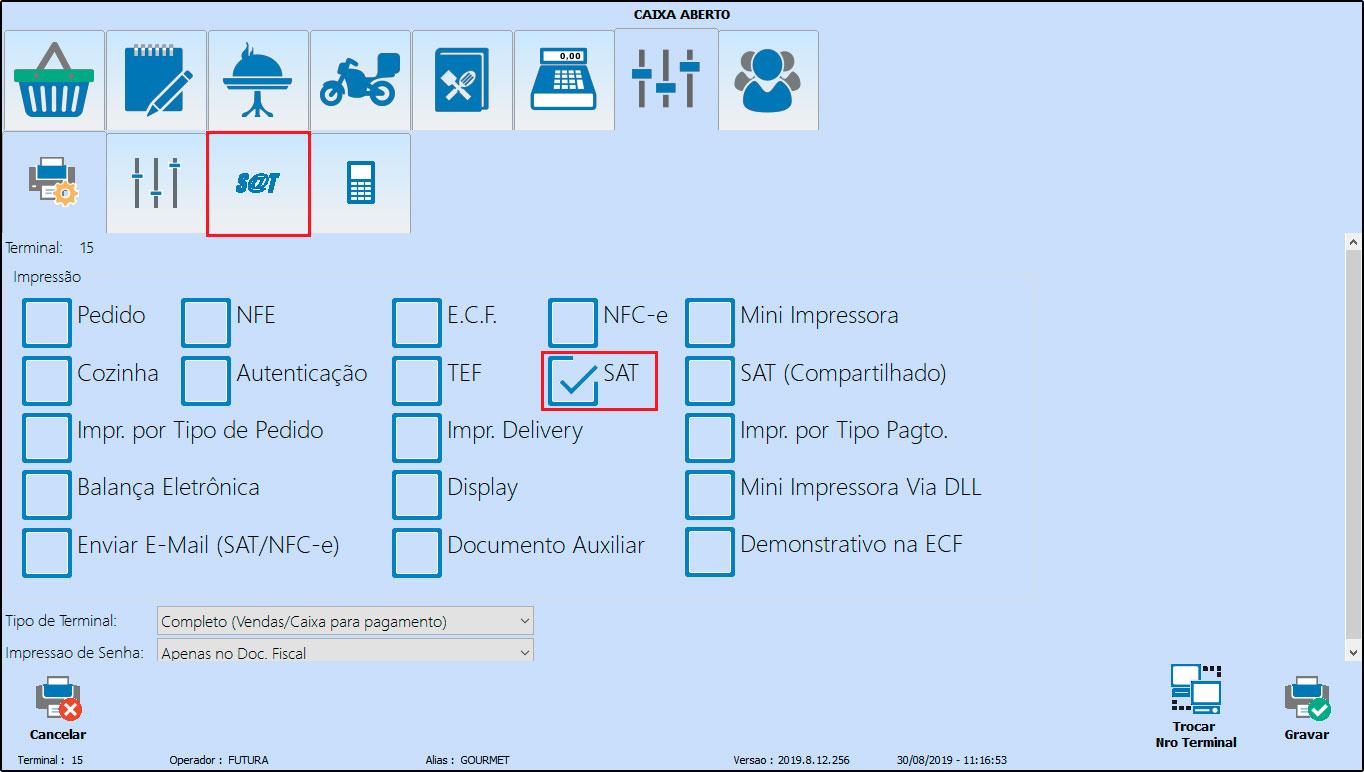 Como instalar e configurar um SAT-CF-e (71)