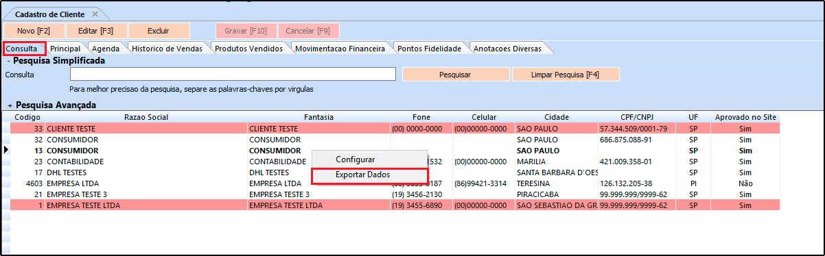 Como exportar cadastros para uma planilha em Excel – FAQ72 (1)