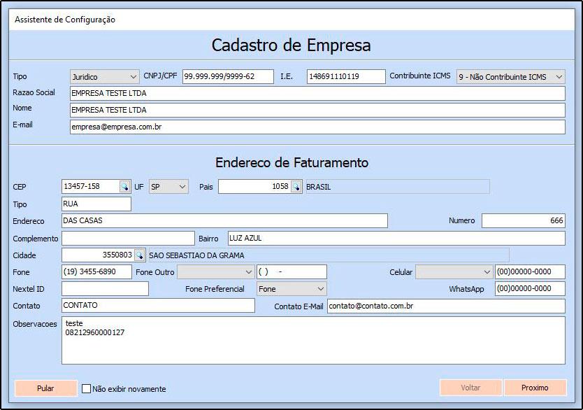 Configurações iniciais ERP Futura Server (Assistente de Configuração) – FAQ73 (3)