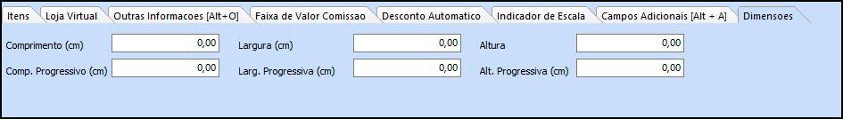 Como cadastrar grade de produtos especifica para Loja Virtual – FAQ89 007.1